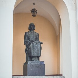 Sculpture of Kristijonas Donelaitis