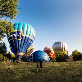 Float Over Vilnius in a Hot Air Balloon
