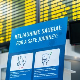 Vilnius Airport Implements Necessary Safety Measures