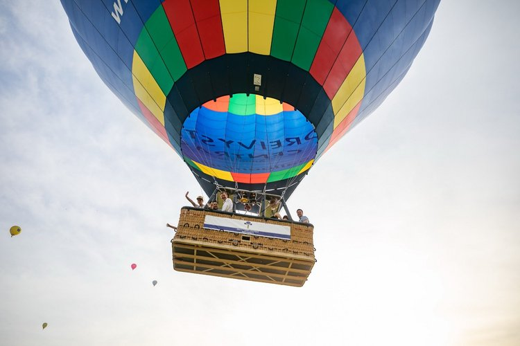 Hot-Air Ballooning Over the Old Town