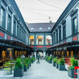 Senatorių Pasažas: Discover organic Lithuanian cuisine in the heart of Vilnius Old Town