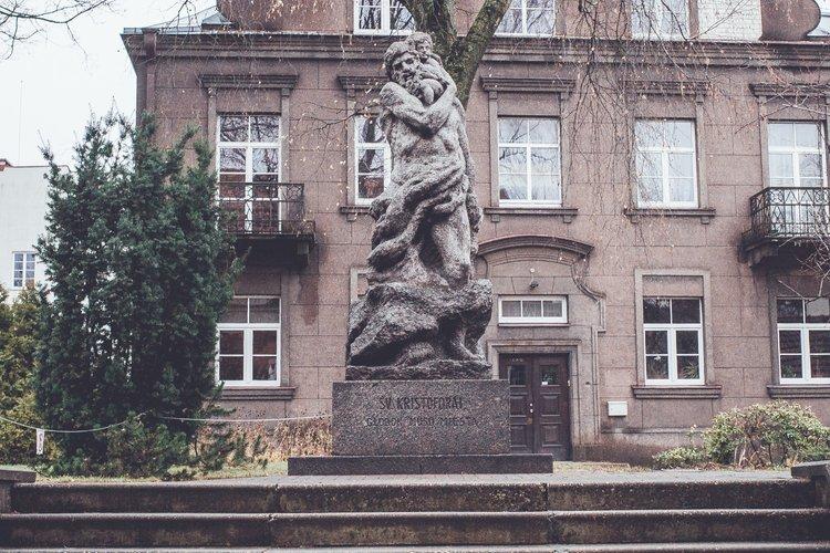 Statue of Saint Christopher