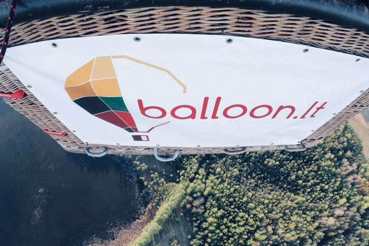 Meška balione /  balloon.lt Hot Air Balloon Flights