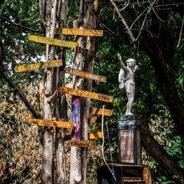 Sculptures at the Užupis Art Incubator