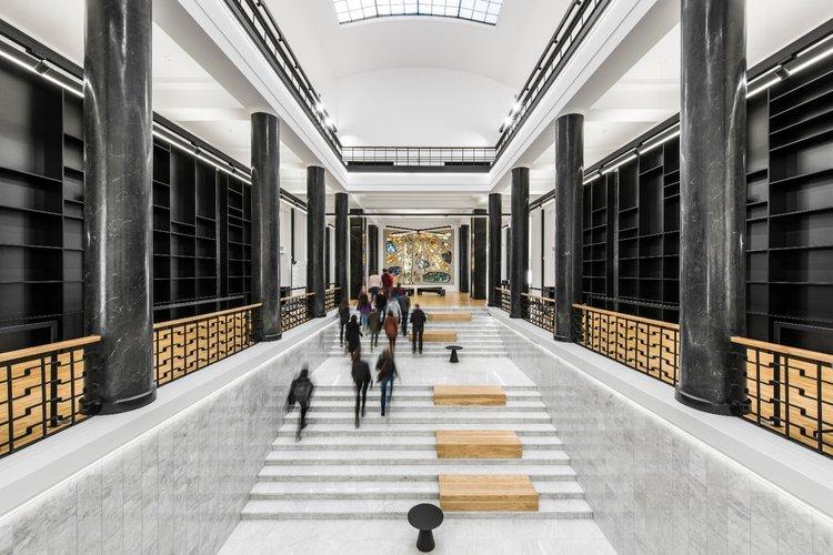 The Martynas Mažvydas National Library of Lithuania