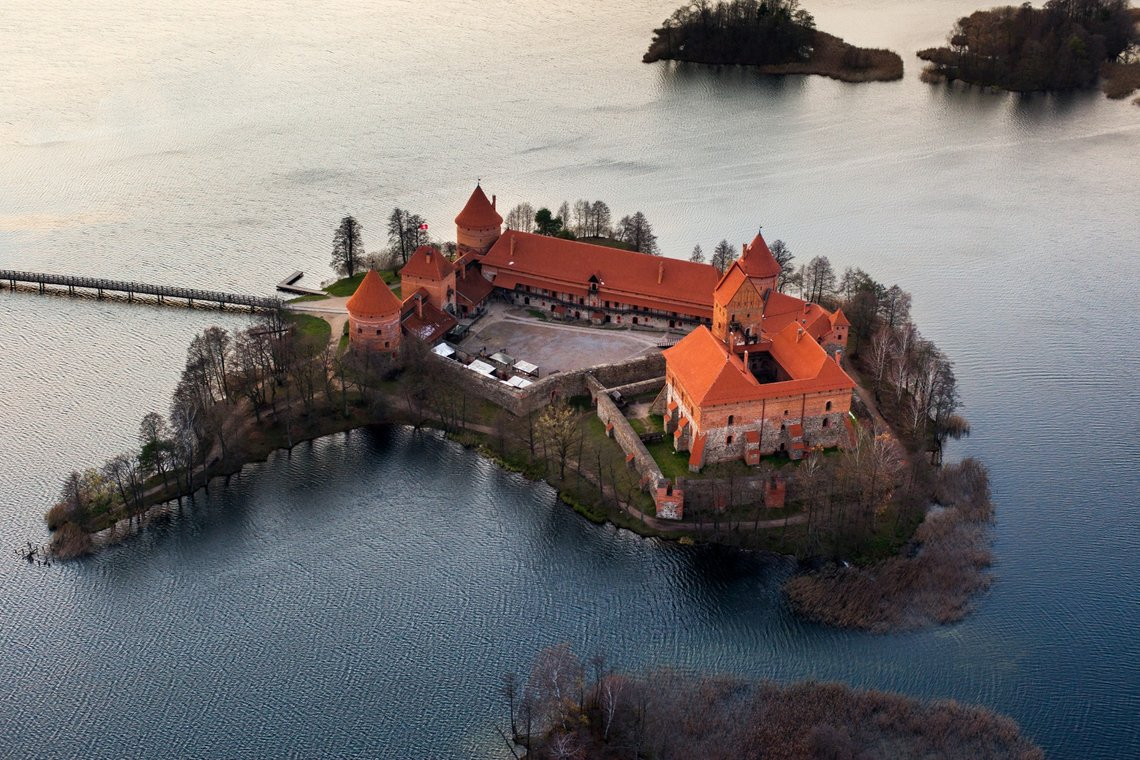 A Stunning Medieval Island Castle