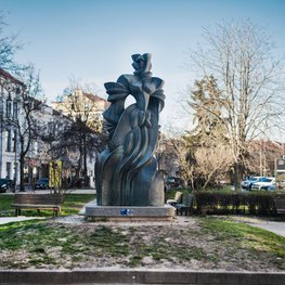 Monument to Barbora Radvilaitė