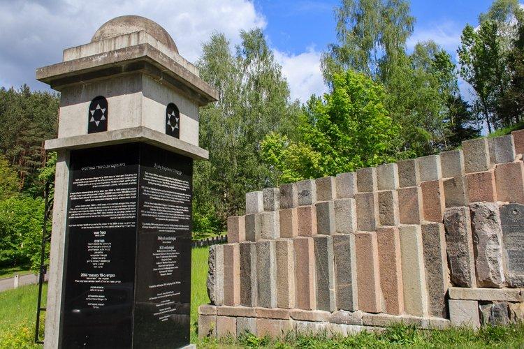 Cmentarz żydowski przy ulicy Olandų
