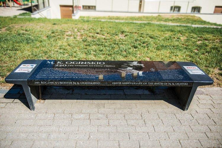 Musical Oginski Bench
