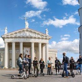 Rolling Around Vilnius