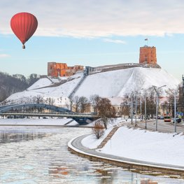 See the Winter Face of Vilnius