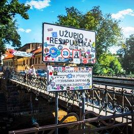 Zarzecze – niepodległa republika w Wilnie miejsce