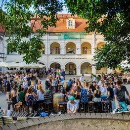 Enter the Courtyards of Vilnius