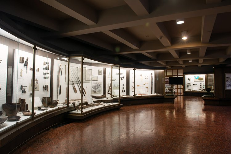 National Museum of Lithuania Archeology exhibition