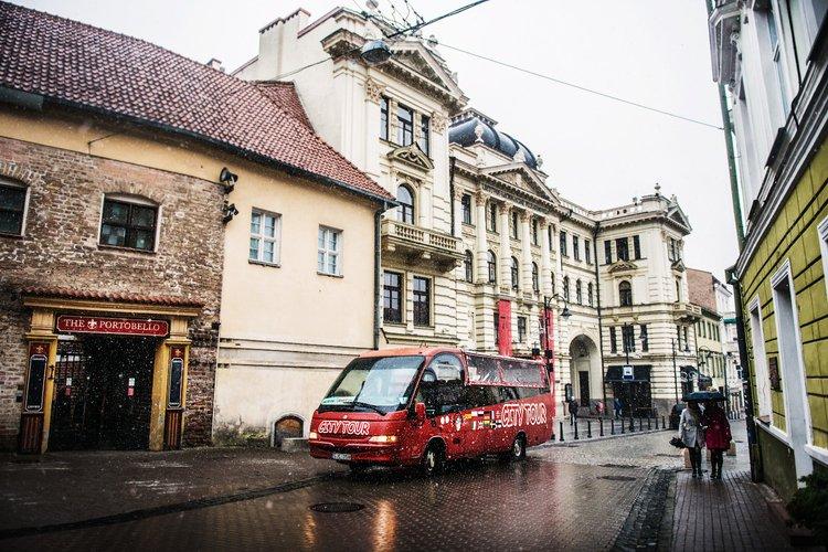 HOP-ON HOP-OFF Vilnius City Tour