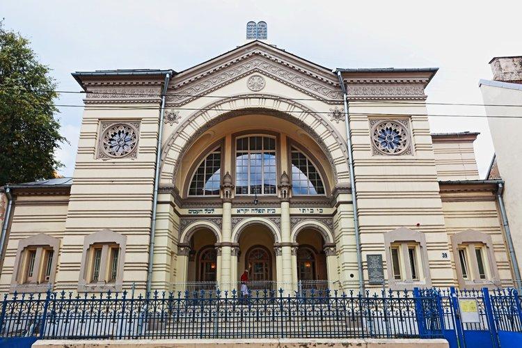 Хоральная синагога в Вильнюсе