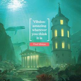 Naujoje reklamoje Vilnius išsikelia į fantastikos pasaulį