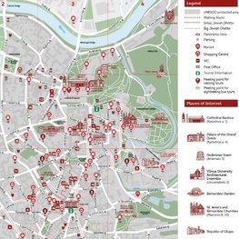 Vilnius City Map