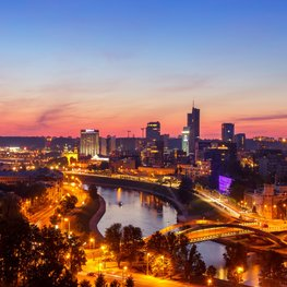 Vilnius City Guide by Ronan J O'Shea
