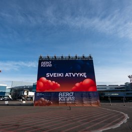 Aerocinema: A Drive-In Movie Theatre Lands at Vilnius Airport