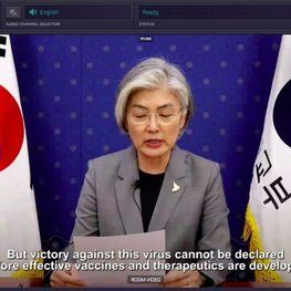Lithuanian app helped connect world leaders in the global response conference