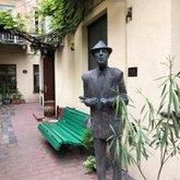 Skulptūra Leonard Cohen'ui