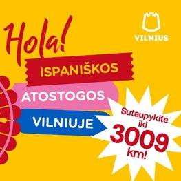 Ispaniškos atostogos Vilniuje!