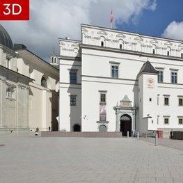 Vilniaus renginių erdvės atgimė 3D aplinkoje