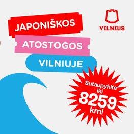 Japoniškos atostogos Vilniuje!