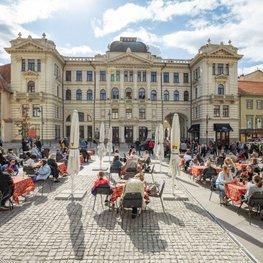 One Giant Outdoor Café