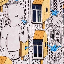 Sztuka uliczna w Wilnie