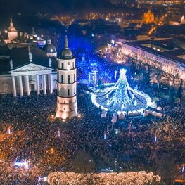 This year, Christmas in Vilnius will be different: brighter, closer to home and with alternative ideas