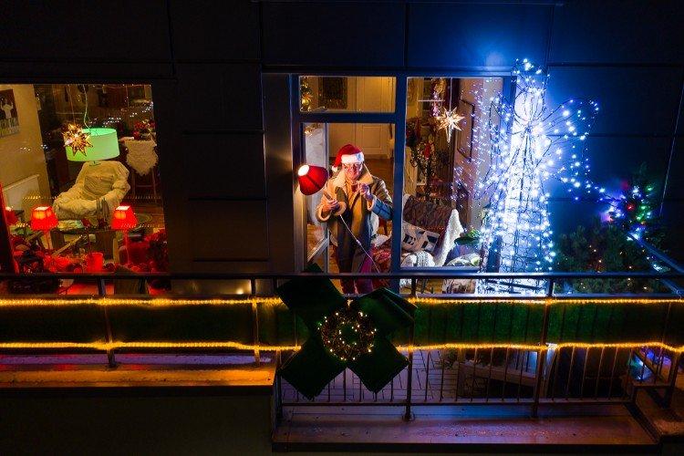 Kalėdų senelio viešnagė