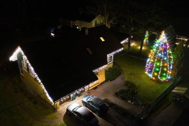 Kalėdinis kiemas