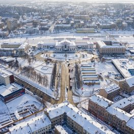 New Architectural Competition: Vilnius Railway Station Area