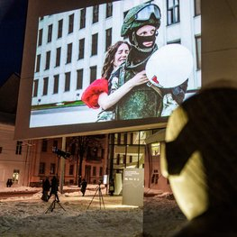 Vilnius Museum Offers a Glimpse into Dramatic Moments of the Belarus Protests