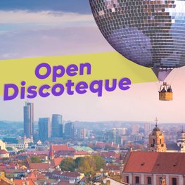 Open-Air Discotheque in Vilnius if The Roop Wins Eurovision 2021