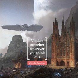 Vilnius for Events. Alien Planet (0:13s)