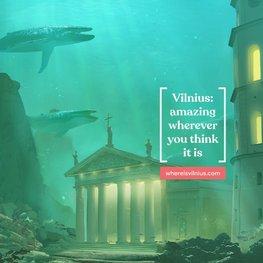Vilnius in Fantasy World