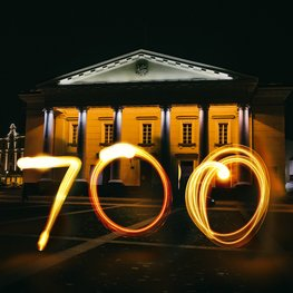 Celebrating the 700th anniversary of Vilnius