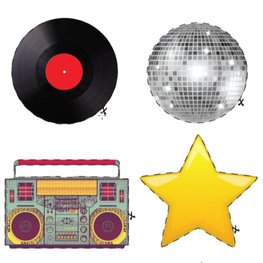 Discoball, boombox & more!