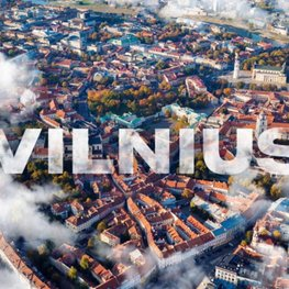 Vilnius for Events. Clouds. Jazz Music (0:09s)
