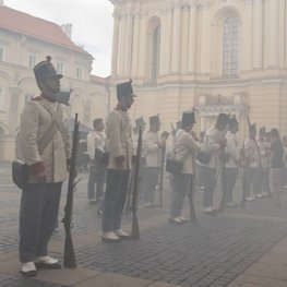 """Hofburg Palace Unearthed in Vilnius in German Television Series """"Sisi"""""""