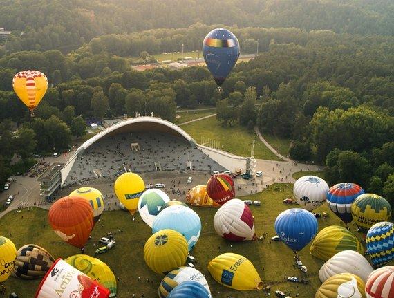 Take to the sky over Vilnius