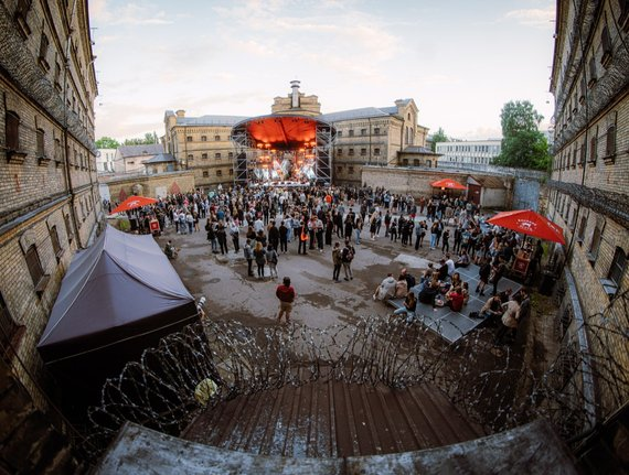Party in a former prison? Whynot!