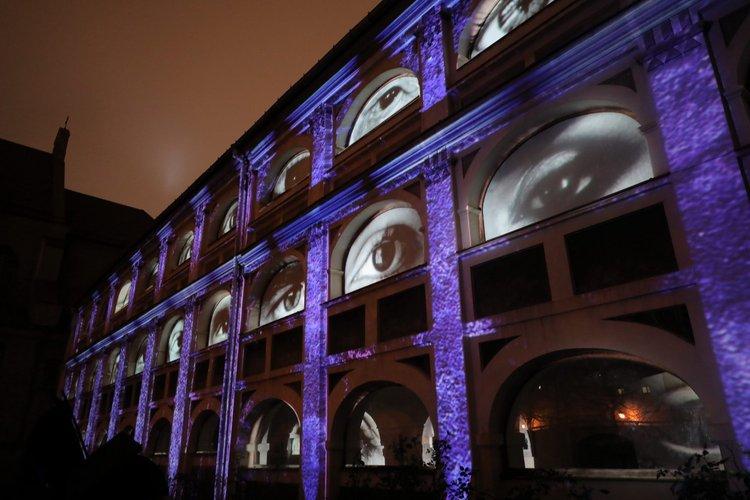 Vilnius Light festival 2020 Photo by Saulius Ziura