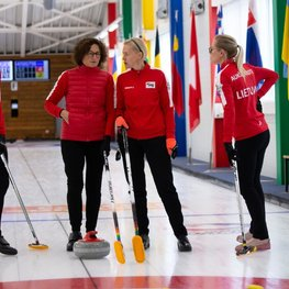 European Curling Championships to be Played in Vilnius